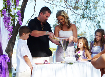 Awesome Blending Families Wedding Ceremony Contemporary - Styles ...