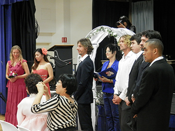 Marry Me Marilyn married Guena from Korea & Keshava at Southport Community Hall Gold Coast