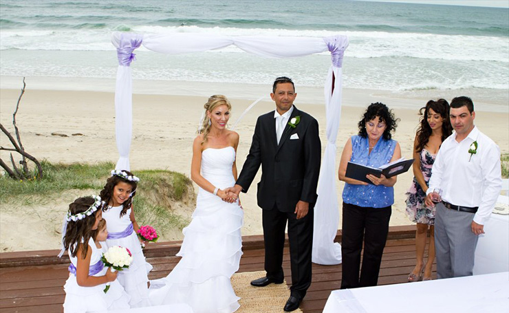 Stefana Greek Wedding Crown Ceremony for Melene & Khaled at their Main Beach Wedding with Marry Me Marilyn Gold Coast Celebrant