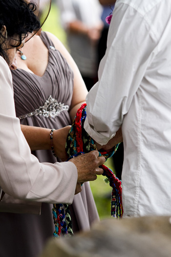 Janet & George's New Year's Eve Handfasting Bilambil Heights over the Tweed Valley