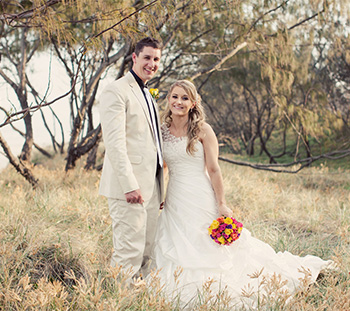 Kasey & James Married at Mantra on Salt with Marry Me Marilyn