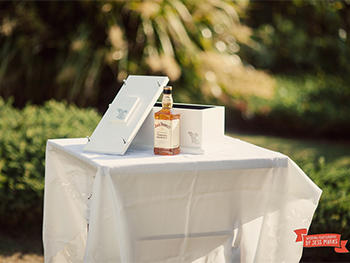 Kasey & James had a Wooden Wedding Box Ceremony at their wedding at Mantra on Salt Kingscliff with Marry Me Marilyn