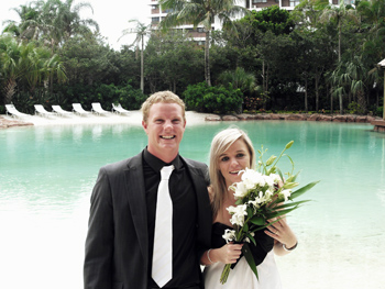 Marry Me Marilyn Kate & Richard From South Africa married at Surfers Paradise on the Gold Coast