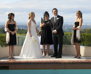 Marry Me Marilyn married Kelly & Ruben Wings Hinterland Retreat Tallai Central Gold Coast South East QLD