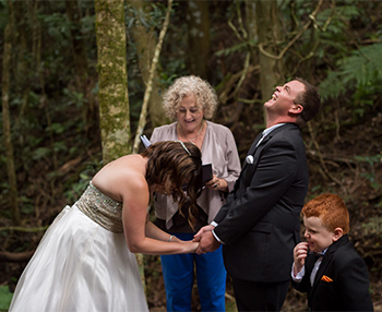 Marry Me Marilyn Amanda & Darren Hidden Gully O'Reilly's Rainforest Retreat Lamington NP