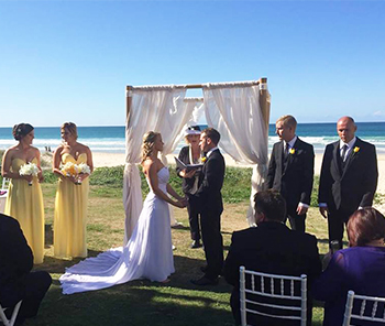 Marry Me Marilyn Christine & Michael Wedding Pacific SLSC Palm Beach Gold Coast
