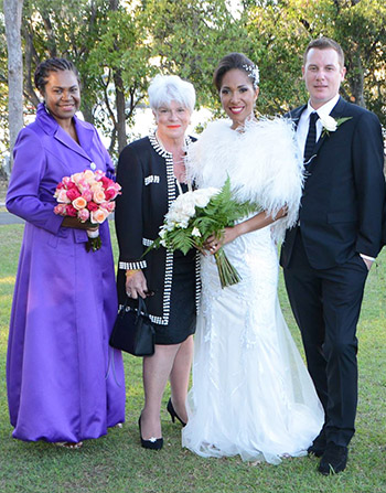 Marry Me Marilyn Diana & Matthew Wedding St Margaret's Chapel Gold Coast Arts Centre Bundall