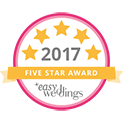 Marry Me Marilyn_Easy Weddings 5 Star Award Badge_2017