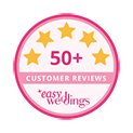Marry Me Marilyn_Easy Weddings 50+ Customer Review Star Award Badge