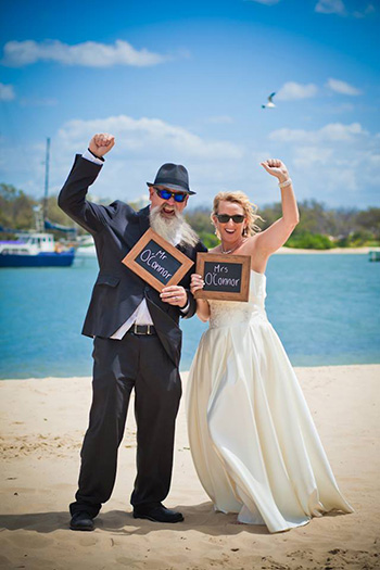 Marry Me Marilyn Elise & Greg married at Harley Park Labrador Northern Gold Coast