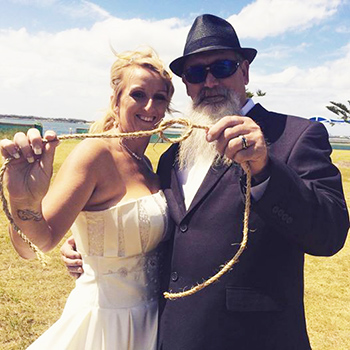 Marry Me Marilyn Wedding Celebrant_Elise & Greg from Western Australia Wedding Harley Park Labrador Northern Gold Coast
