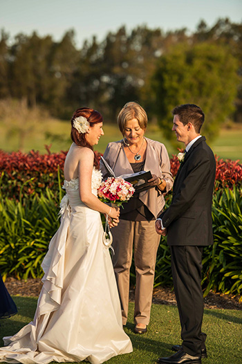 Marry Me Marilyn Love Letter Eliza & Shane Wedding Lakelands Golf Club Merrimac Gold Coast