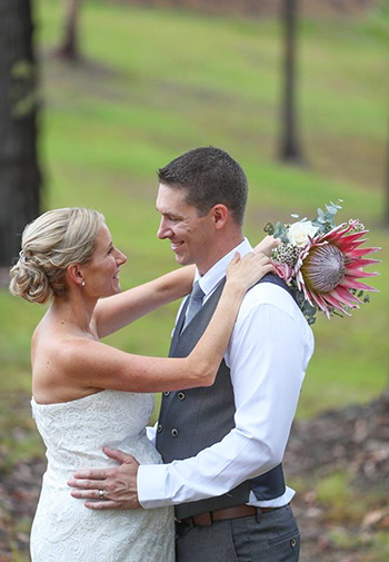 Marry Me Marilyn Hayley & Ben Wedding Wings Hinterland Retreat Tallai Gold Coast