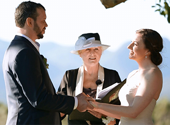 Marry Me Marilyn Wedding Celebrant Jade & Thomas' Wedding Midginbil Hill Midginbil NSW