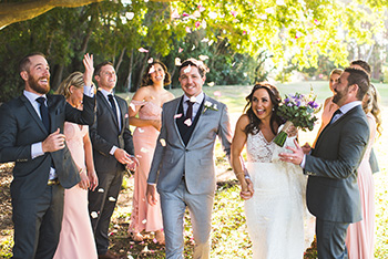 Marry Me Marilyn Jenna & Tim's Wedding Len Wort Park Currumbin Gold Coast