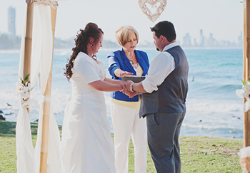 Love Letter Jennifer & James from Victoria married at John Laws Park Burleigh Heads Gold Coast