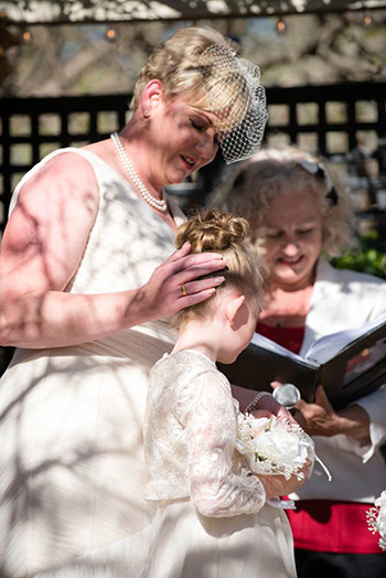 Marry Me Marilyn Jenny & Boyd Wedding Family Ceremony Cafe Valetta Toowoomba