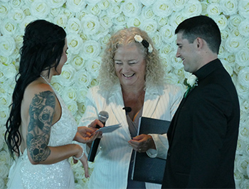 Marry Me Marilyn Jessica & Luke Wedding SkyPoint Q1 Surfers Paradise Gold Coast