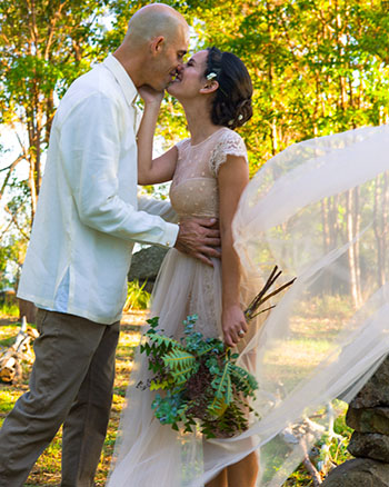Marry Me Marilyn Katrina & Kurt Wedding Lower Beechmont Lookout Gold Coast Hinterland