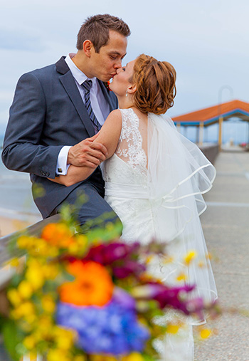 Marry Me Marilyn Katrina & Michael's Handfasting Wedding Rotunda Sails Sutton's Beach Redcliffe