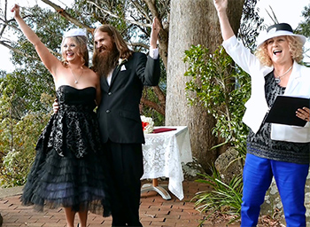 Marry Me Marilyn_Lisa_Jimmy_Wedding Binna Burra Lodges_Congratulations