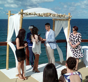 Marry Me Marilyn Monika and Samuel Wedding Point Danger Coolangatta Gold Coast
