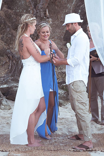 Marry Me Marilyn_Nicole & Paulo Handfasting Wedding Elephant Rock Currumbin Beach Gold Coast