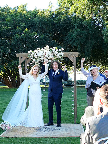 Marry Me Marilyn_Nicole & Tony Wedding Powerhouse Performance Lawn New Farm Park Brisbane