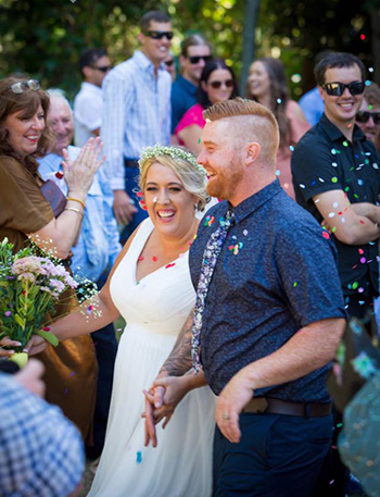 Marry Me Marilyn_Ruby & Sam Viking Norse Handfasting Northey St City Farm Windsor Farm Brisbane