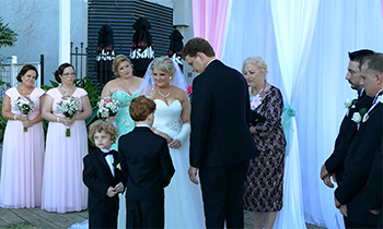 Marry Me Marilyn_Samantha & Shane Wedding Stamford Plaza Brisbane City Family Unity Ceremony
