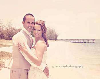 Marry Me Marilyn Sandy & Jason married at Paradise Point Pier 2 Broadwater Gold Coast
