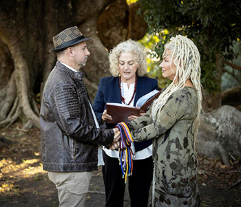 Marry Me Marilyn Tanya_Shayne Spiritual Handfasting Wedding Bend of the River Elanora Gold Coast