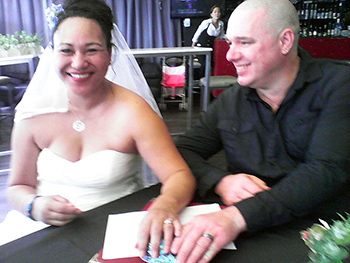 Marry Me Marilyn_Tuay Mal from Perth Wedding Central Lounge Bar Surfers Paradise