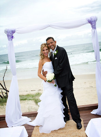 Melene & Khaled's Main Beach Wedding with Marry Me Marilyn