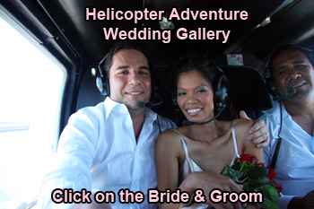 Adventure Helicopter Wedding