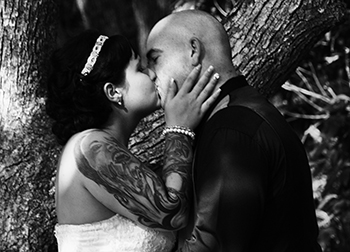 Seemena & Thomas married at Boomerang Farm in Mudgeeraba Gold Coast with Marry Me Marilyn