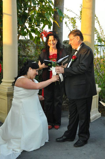 Marry Me Marilyn_Sylvia_Christopher Wedding at The Courthouse Restaurant Cleveland Point Redlands